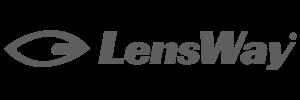 Lensway logga grå